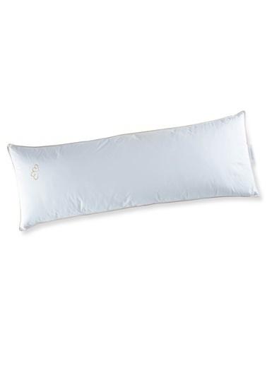 Penelope Alliance Kaz Tüyü Yastık 50x140 Beyaz